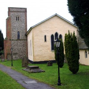 St Katharine's from the east