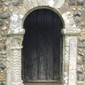 Late Norman south doorway