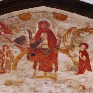 Mural over the chancel arch
