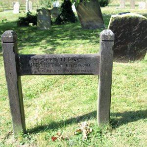 The Edith Nesbitt grave