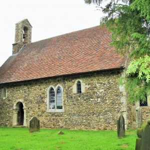 St Oswald's from the south