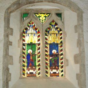 Ogee headed 14th century window