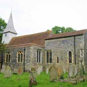West Stourmouth church
