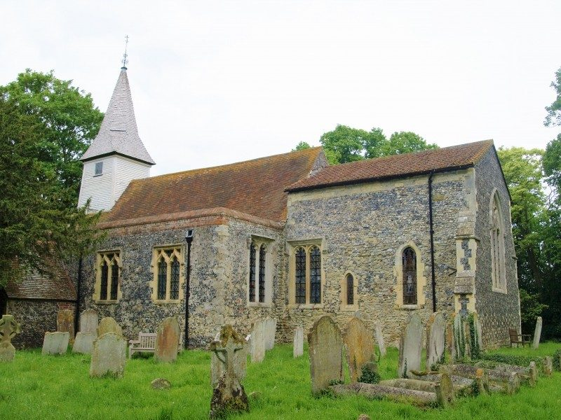 West Stourmouth church