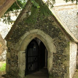15th century porch