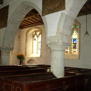 Part of the nave south arcade