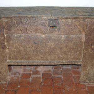 Late 12th century chest