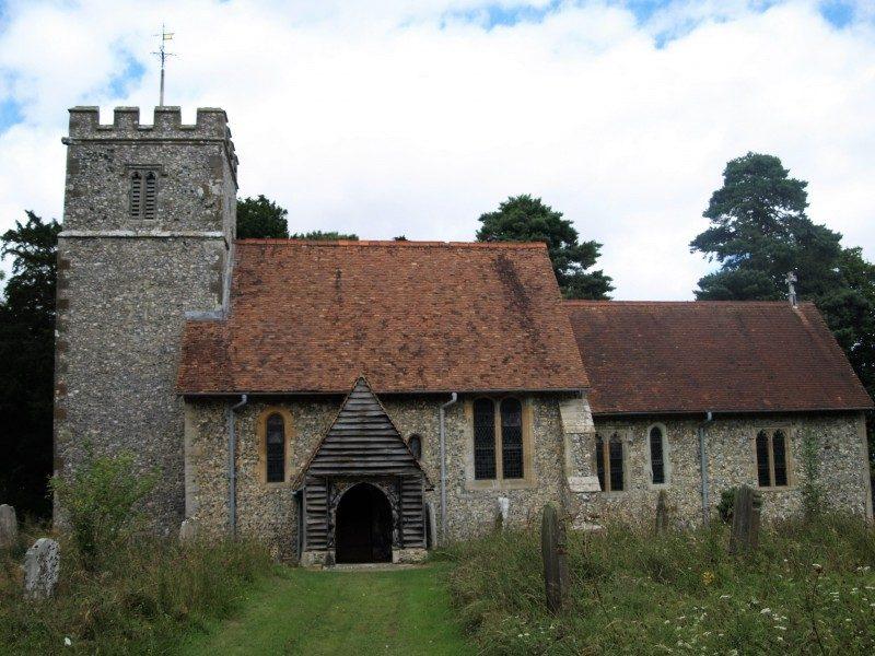 Wormshill church
