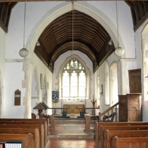 The nave and chancel