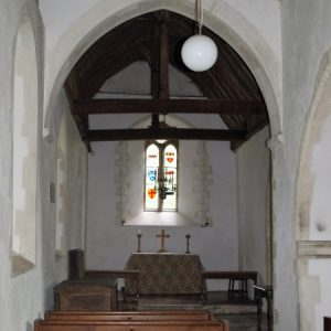 The east end of the north aisle