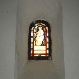 Saxon double splayed window
