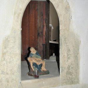 Medieval hagioscope