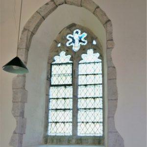 14th century nave window