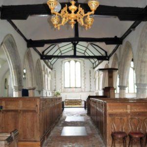 Brookland Church nave