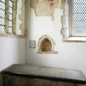 The chapel in the south aisle
