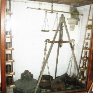Weights and measures cabinet