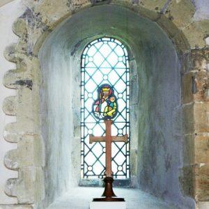 The chancel east window