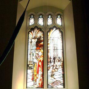 Chancel east window