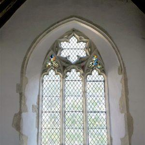 The south chapel east window