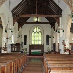 The nave looking east