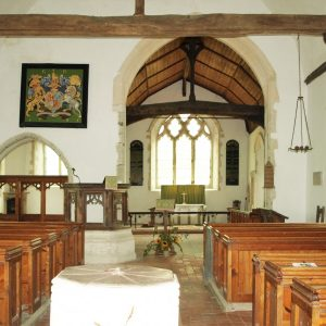Chancel and chapel arches