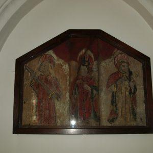 A medieval triptych