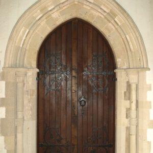 Inner south doorway
