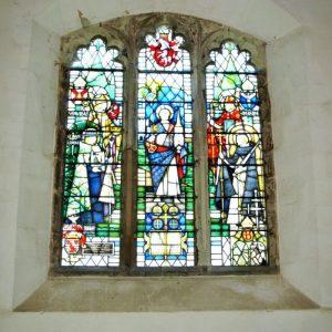 Bullen chapel east window