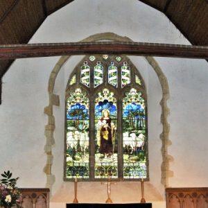 15th century east window