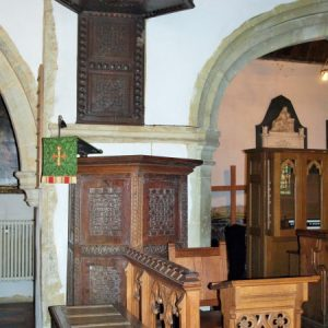 Early 17th century pulpit