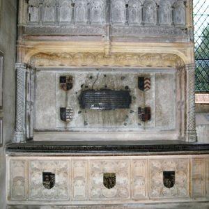 Sir William Sidney tomb chest