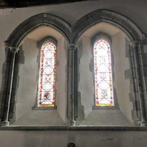 Twin Early English window