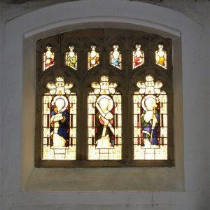 South aisle 3-light window