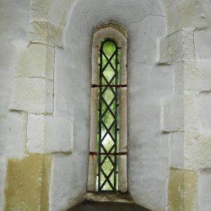 North aisle lancet window