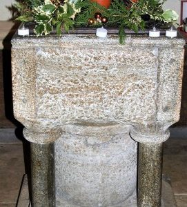 The 12th century font