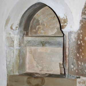 Early English piscina in the chancel