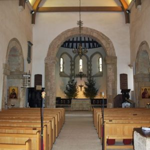 The largest Saxon chancel arch in the country