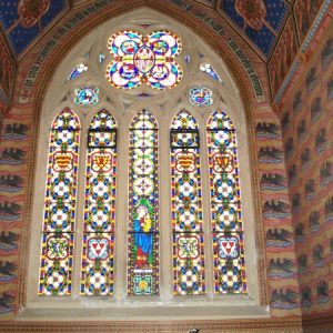 Drummonds Chapel south window