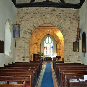 The crossing viewed from the nave
