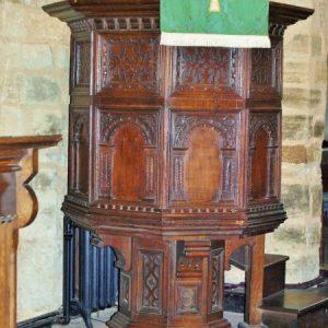 17th century pulpit
