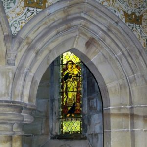 Arch from chancel to choir aisle