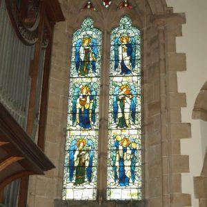 The choir aisle east window