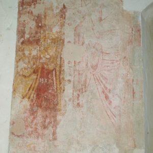 The Annunciation mural