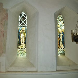 Two lancets in the chancel