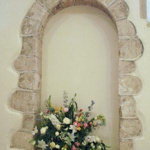 Norman doorway from inside
