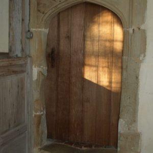 Doorway to former chapel