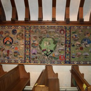 The Wisborough Green tapestry