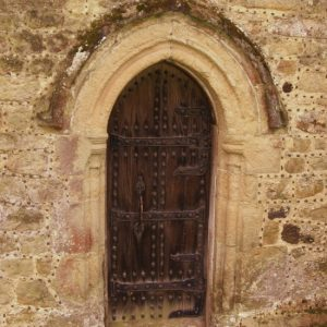 The north doorway
