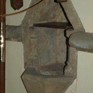 13th century piscina