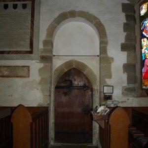 The south doorway